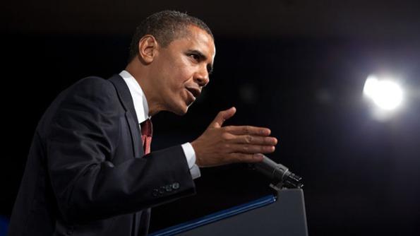 President Barack Hussein Obama (PHOTO : PETE SOUZA, WHITE HOUSE)