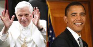 Il Papa Benedictus XVI & President Obama