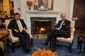 Jusuf Kalla & Joe Biden Di Washinton DC